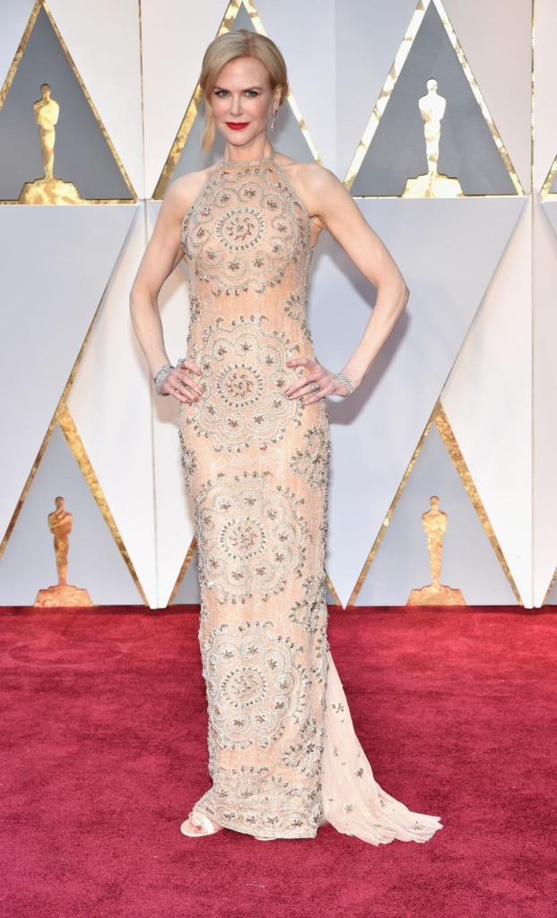 HOLLYWOOD, CA - FEBRUARY 26:  Actor Nicole Kidman attends the 89th Annual Academy Awards at Hollywood & Highland Center on February 26, 2017 in Hollywood, California.  (Photo by Kevin Mazur/Getty Images)
